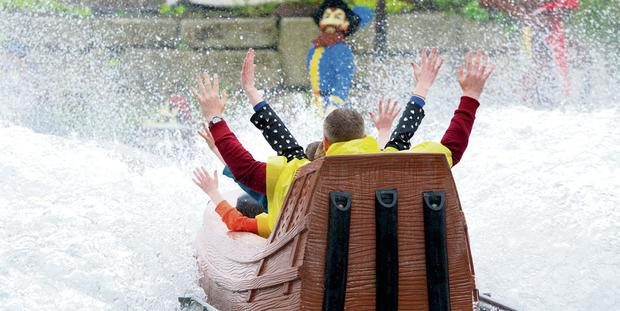 One of the fun rides at Legoland Windsor
