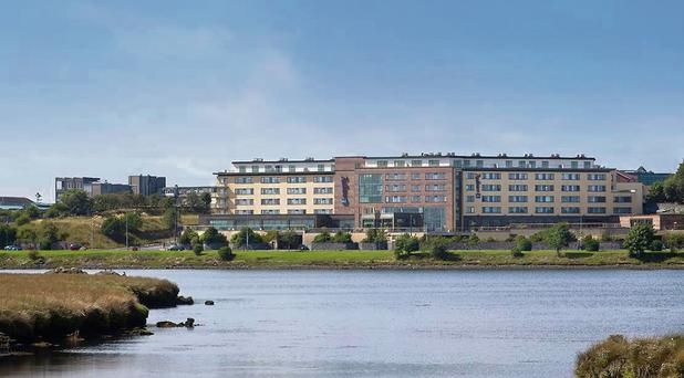 Relaxing: The Radisson Blu in Galway