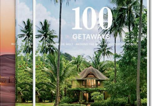 The book, 100 Getaways Around The World