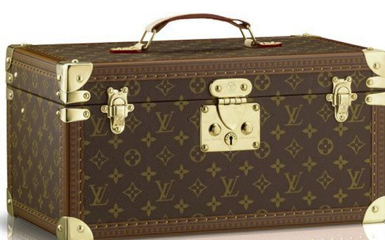 Vuitton's gorgeous hardsided travel toiletry case