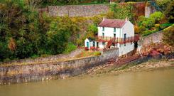 THE POET'S REST: The Boathouse at Laugharne, in south Wales, where Dylan Thomas spent much of the last decade of his life with his young family. It is now a museum