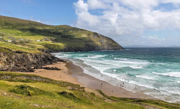 Coomeenole, Co. Kerry: Coomeenole sits right at the tip of Slea Head, watching out over the Blasket Islands. Many will recognise it from Ryan's Daughter (1970), but a new generation of visitors are more intent on surfing than the silver screen. It's a stunner.