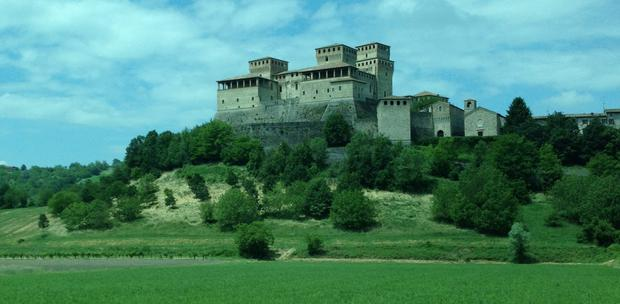 Castle of Torrechiara, Parma