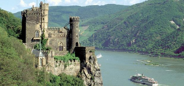 Moselle Valley: It was easy to see why romantic poets were so captivated by this scenery.