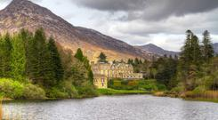 LAKES AND MOUNTAINS: Set amongst breathtaking Connemara scenery, Ballynahinch Castle has a riveting history
