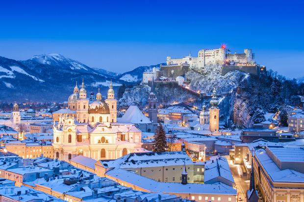 salzburg christmas markets - Best European Cities For Christmas