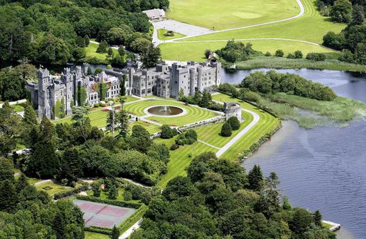 Ashford Castle, which re-opened after refurbishment last April.
