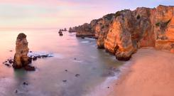 Dona Ana beach, Algarve, Portugal. #MagicMonday