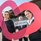 Cork Airport launched a new brand identity this year. Pictured are: Robyn Chadwick, The Loop, Rachel Larkin, Communications Assistant and Niall MacCarthy, Managing Director.