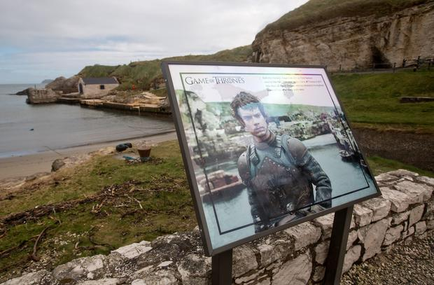 Ballintoy Harbour in Co Antrim featured as the Iron Islands in Game of Thrones