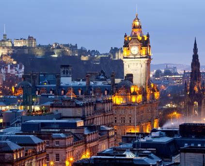 On with the old (town), and the new: The only problem Edinburgh poses for the visitor is trying to fit all the attractions into a short visit
