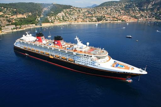 The Disney Magic photographed in Villefranche. Photo: Disney