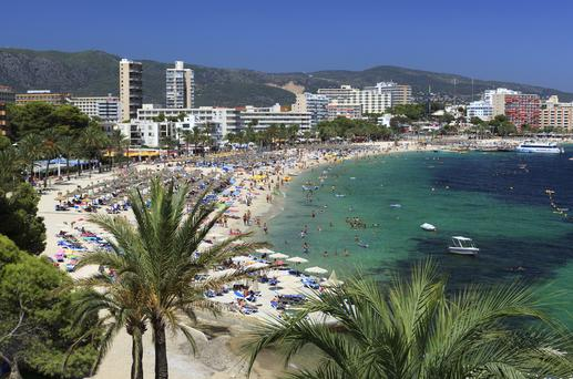 Two British police officers were sent to Majorca to help police at the alcohol-fuelled destination last week.