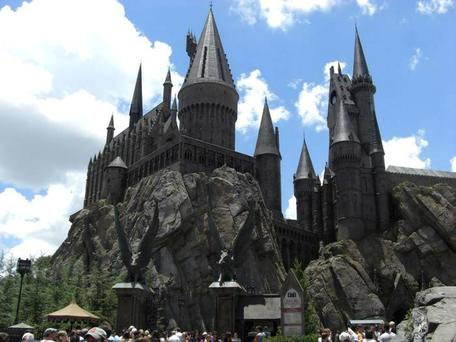 All aboard for Hogwarts: Last summer, Universal Studios Florida opened The Wizarding World of Harry Potter - Diagon Alley. The sets are built with a rigorous eye for detail