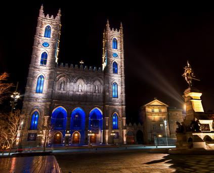 Inspiring: The Basilique Notre-Dame in the place d'Armes will give visitors a wow moment. It is also home to the statue of Maisonneuve, the founder of Montreal