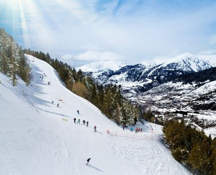 Tourist draw: Andorra has spectacular scenery, hiking opportunities, shopping, a unique mix of Spanish and French cultural influences, but it's the skiing that is the big draw.