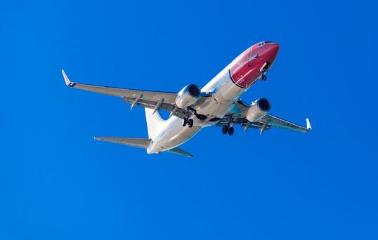 Norwegian: Transatlantic flights from Cork