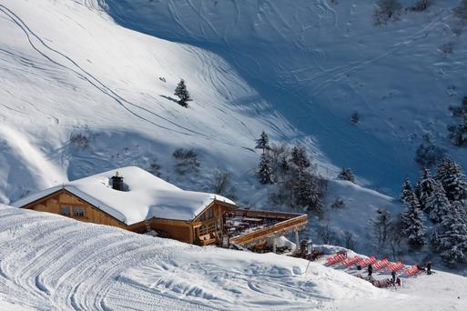 La Plagne France, Stock picture