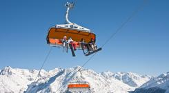 Chairlift Austria