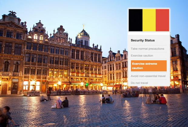 Belgium: On November 22, the Department of Foreign Affairs updated its advice to