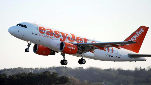 An easyJet flight. Photo: PA Wire/Press Association Images