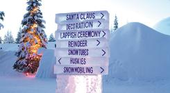 There is limited availability for Lapland breaks in the run up to Christmas