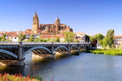 A Douro cruise takes in Salamanca.