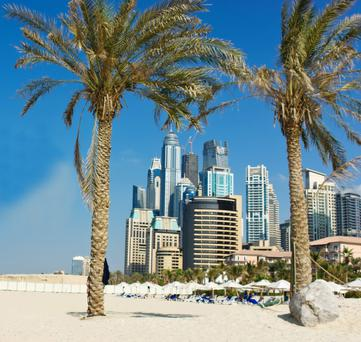 Ideal winter sun destination: Dubai