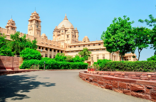 Umaid Bhawan Palace of Jodhpur, Rajasthan, India. Photo: Deposit