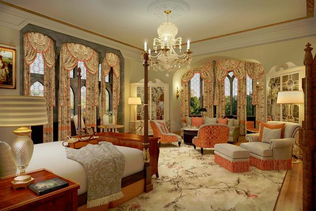 Adare Manor Suite: Artists' Impression.