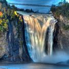 Montmorency falls, Quebec. Photo: Deposit