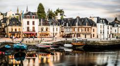 Chic beauty: The medieval harbour of Auray