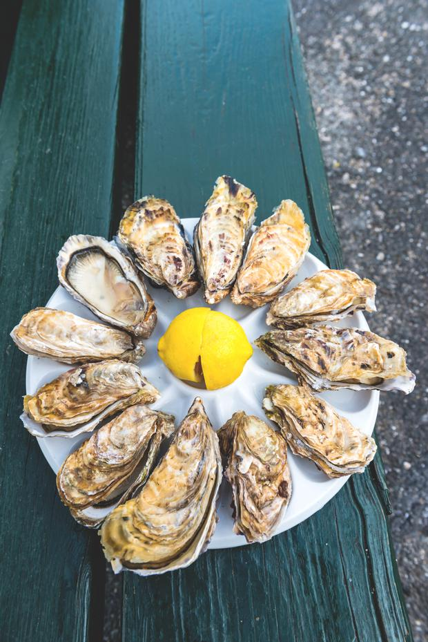 Oysters - Brittany is renowned for producing seafood.