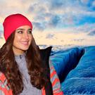 Roz Purcell in Iceland.