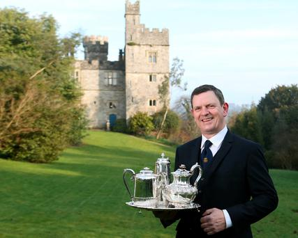 Lismore Castle's Butler, Denis Nevin. Photo: Patrick Browne