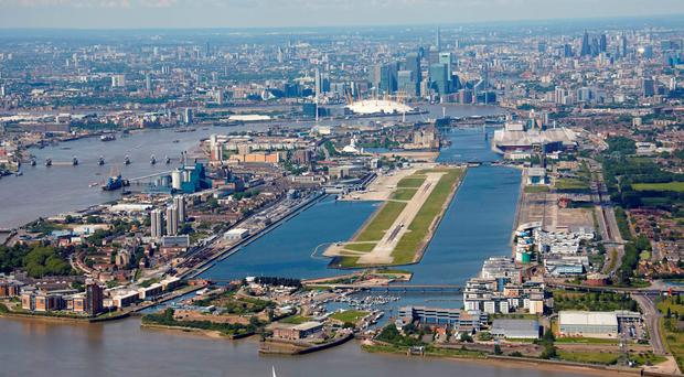 London City Airport: One of the world's most scenic approaches. Photo: Andrew Holt