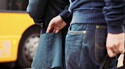 Pickpocketing on the street. Photo: Deposit