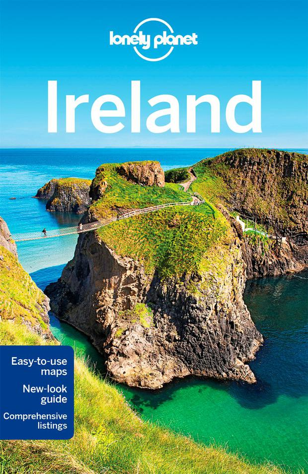 Lonely Planet's updated Ireland Guide, 2016.
