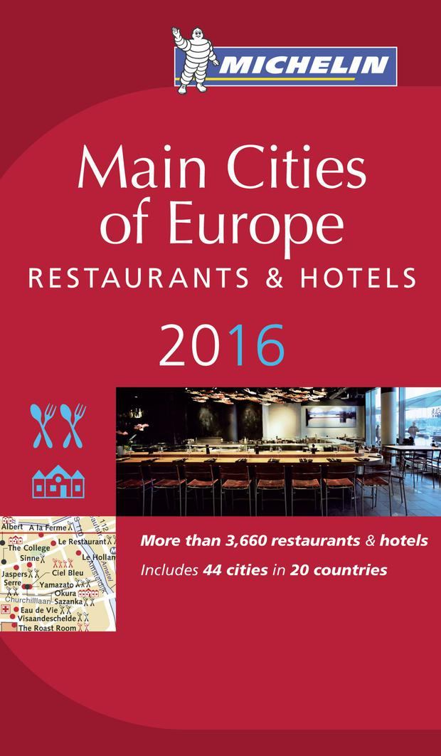 Michelin Main Cities of Europe Guide 2016