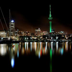 The Sky Tower in Auckland, New Zealand, joins Tourism Ireland's Global Greening, to celebrate the island of Ireland and St Patrick.