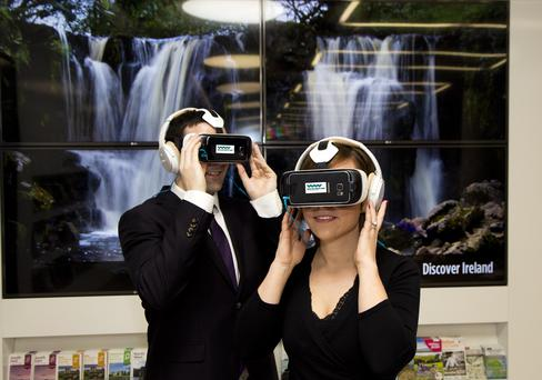 Fáilte Ireland's VR experiences will be shared on the Oculus store where millions of people with VR headsets can download and enjoy them. Picture Colm Mahady / Fennells