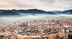 Panoramic view of Olot, Garrotxa. Photo: Deposit