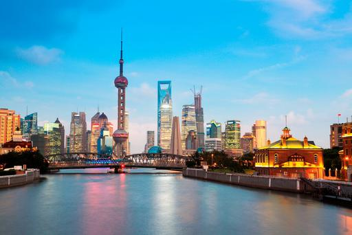 Shanghai from the river. Photo: Deposit