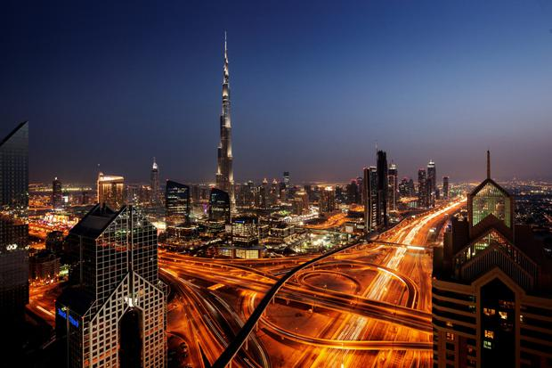 The skyline of Dubai, a city that loves superlatives: the tallest, the biggest, the best, and the happiest, with a new minister devoted to goodwill.