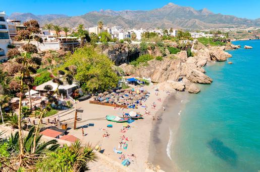 Nerja, on Spain's Costa del Sol