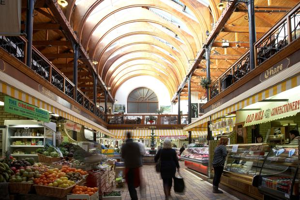 Cork's English Market, which has been trading since 1788, has a massive variety of foods - and is also a great place to savour the local banter.