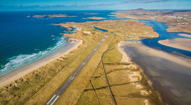 Donegal Airport. Photo by Owen Clarke, reproduced with permission from PrivateFly.com.