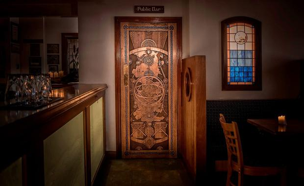 A Game of Thrones-inspired door at The Cuan in Strangford, Co. Down. Photo: Tourism Ireland
