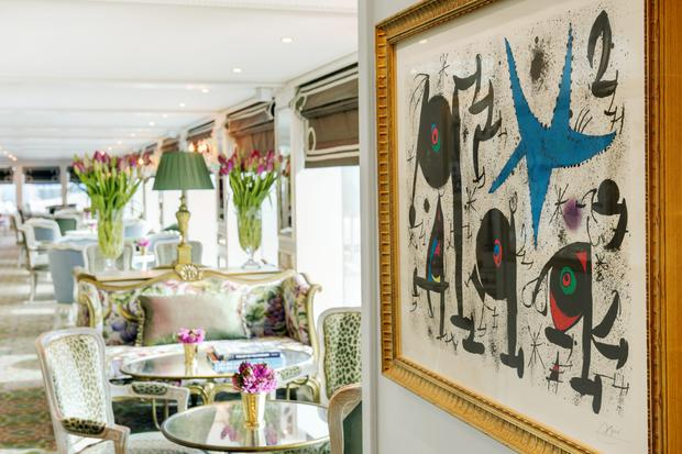 Exceptional art onboard the SS Catherine