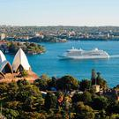 Silver Whisper in Sydney Harbour